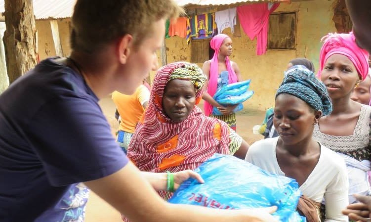 Malaria education & bed net programme